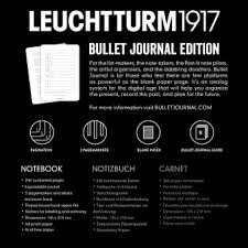 Записная книжка <b>блокнот Bullet</b> Journal Leuchtturm A5 (в <b>точку</b> ...