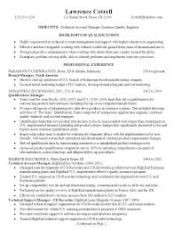 Sample Resume  Resume Technical Manager It Project Exle
