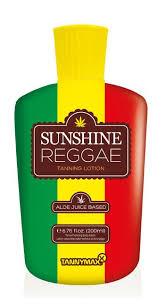 <b>Sunshine</b> Reggae - крем для <b>загара</b> Tannymaxx