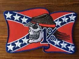 HOT SALE! Rebel 1% American Flag MC Biker Patch Embroidery ...