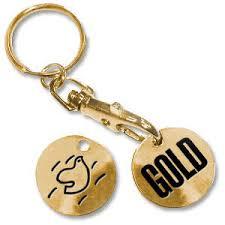 <b>Spandau Ballet GOLD</b> Trolley Token Keyring