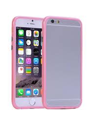 Чехол для iPhone 6 / iPhone 6S <b>бампер</b> пластик-<b>силиконовый</b> ...