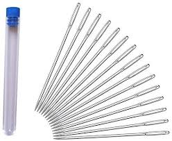 Needles with Large <b>Eyes</b>, 20 Pieces <b>Sharp</b> Point Needles Sewing ...
