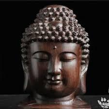 Статуя Будды деревянная фигурка из <b>красного</b> дерева ...