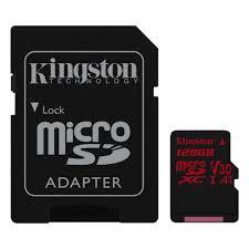 <b>Карта памяти Kingston</b> Canvas React microSDXC <b>128Gb</b> UHS-I U3 ...