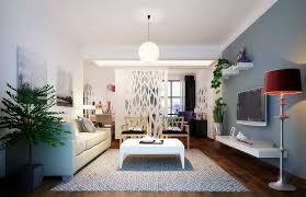 model living rooms: modern living room fully furnished