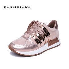 <b>BASSIRIANA 2019</b> New Leather Flat Shoes Ladies Shoes Casual ...