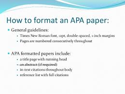 term paper guidelines apa research paper sample apa format phraseapa style research paper guidelines