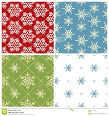four christmas seamless patterns royalty stock images image four christmas seamless patterns