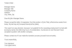 40 two weeks notice letters resignation letter templates two weeks notice 10