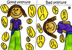 <b>Kids</b>' Health - Topics - Good <b>posture</b> - looking after your back