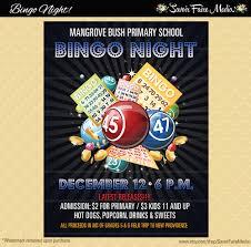 bingo flyer bingo night poster template church school 128270zoom