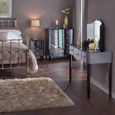 glass bedroom furniture rectangle shape wooden cabinets:  bedroom mirrored furniture pier one wood flooring lighted by desk lamp rectangle shape wall mirror white