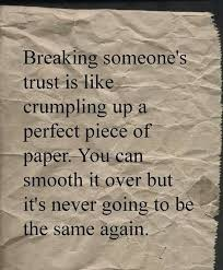 Broken trust | Memes | Pinterest | Broken Trust and Truths via Relatably.com