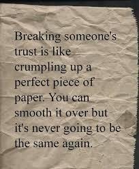 Broken trust | Memes | Pinterest | Broken Trust and Truths via Relatably.com