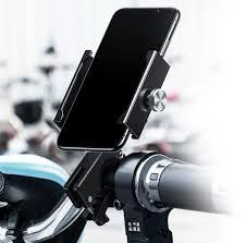 <b>Держатель</b> смартфона <b>Baseus Knight</b> Motorcycle holder Серебро