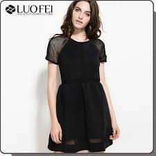 China <b>Fashion</b> Black <b>High Quality Women</b> Apparel Manufacturer ...