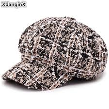 <b>XdanqinX Women's Autumn Winter</b> Fashion Retro Newsboy Caps ...