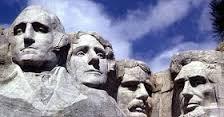La cima del monte Rushmore