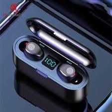 Wireless Earphone Bluetooth V5.0 F9 TWS Bluetooth ... - Vova