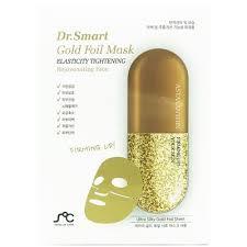 Омолаживающая <b>маска для лица Dr. Smart</b> Gold Foil Mask с ...