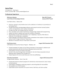 assistant library assistant resume library assistant resume