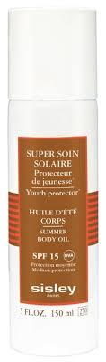 Sisley Paris <b>Солнцезащитное масло для тела</b> SPF 15 — купить ...