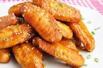 Куриных крылышек в соево медовом соусе