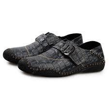 <b>Men's</b> Business Crocodile Metal Buckle Casual Oxford <b>Shoes</b> Sale ...