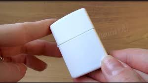 <b>Зажигалка Zippo 214</b> White Matte (Видео обзор) podarki-odessa.com