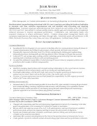 resume samples for contract manager com resume samples for contract manager