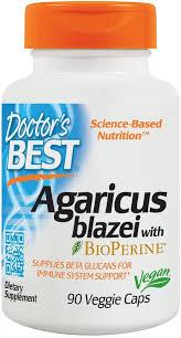 Doctor's Best <b>Agaricus Blazei with BioPerine</b> - 90 vcaps - Odżywki i ...