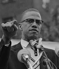 「黒人運動指導者マルコムXが演説中に暗殺」の画像検索結果