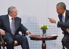 Image result for Raul Castro - Obama pictures