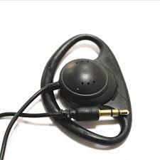 100 Pack Of Soft <b>Hook Headsets</b> Single Side Earpiece <b>1 Bud Stereo</b> ...