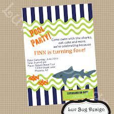 swimming pool birthday party invitation wording custom invitations party invitation templates kids