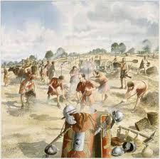 Image result for roman legion road building