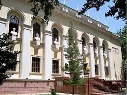 Image result for کتابخانه ملی و فردوسی تاجیکستان