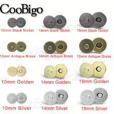 <b>10set</b> Dia. 10mm <b>14mm</b> 18mm <b>Magnetic Snap</b> Fasteners Clasps ...
