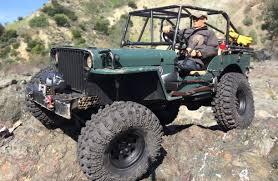 Jeep Rock Crawler Rc Willys Jeep 29 Scale Rock Crawler South County Trail Run
