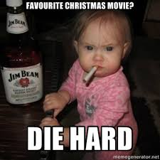 Don't care what you think, Vesti, Die Hard is NOT a Christmas ... via Relatably.com