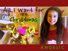 all i want for christmas is you mariah carey angelic cover  all i want for christmas is you mariah carey angelic cover 10 years old
