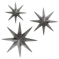 metal star wall decor: bay accents metal star wall dampeacutecor