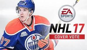 ice hockey video game- nhl 17