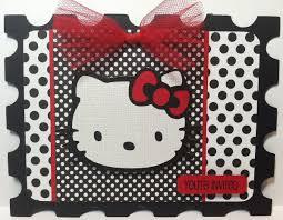 hello kitty printable invitation template