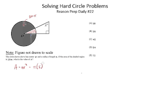 solving hard circle problems