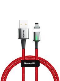 Кабель магнитный <b>Baseus Zinc</b> Magnetic Cable USB - Lightning ...