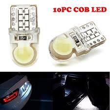 Ecosin Fashion 10PC T10 194 168 W5W COB 8 SMD ... - Amazon.com