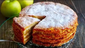"""Простейший Яблочный Пирог """"ТРИ СТАКАНА"""" Изумительно ..."""