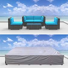 urban furnishing premium outdoor patio furniture cover 68 x 68 amazon patio furniture covers